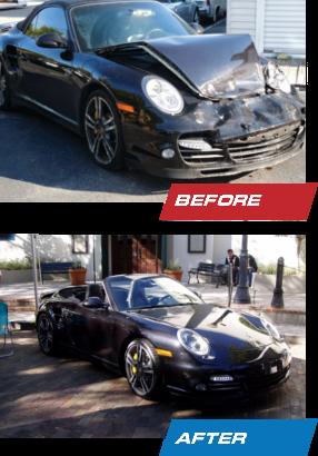 Porsche Collision Repair Orlando Brennan Bodyworks - Porsche collision repair